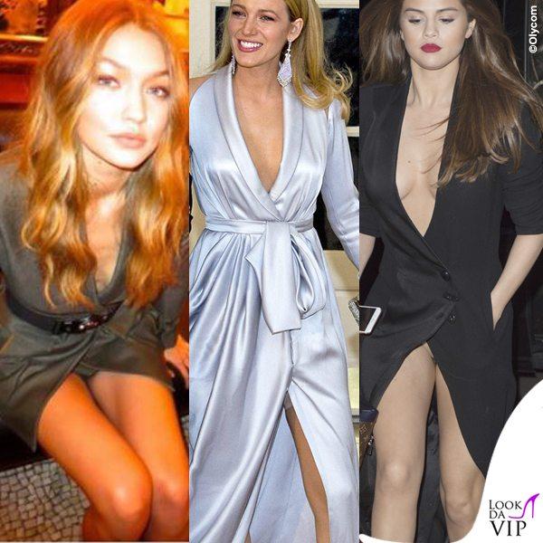 Gigi-Hadid-abito-Versace-Blake-Lively-abito-Ralph-Russo-Selena-Gomez-abito-Ronald-Van-Der-Kemp-spacco-inguine (1)