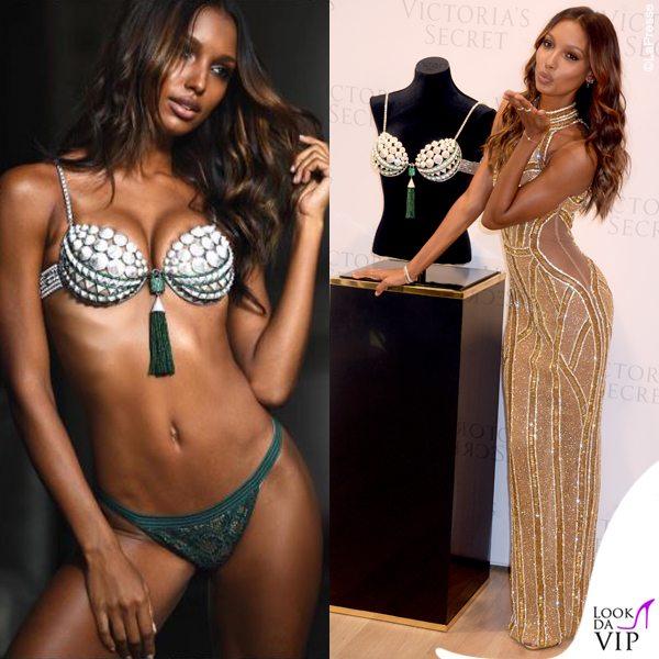 Jasmine-Tookes-Victorias-Secret-Fantasy-Bra-abito-Yousef-Aljasmi