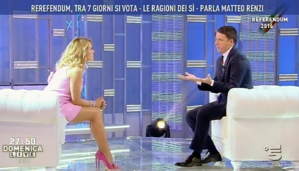 Referendum: Renzi, chance non ricapita per dire basta Casta