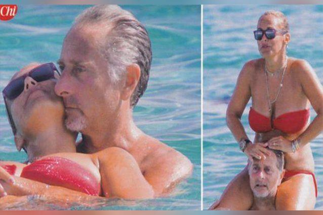 """Paolo Bonolis, divertenti """"siparietti"""" su Instagram con la moglie"""