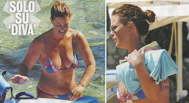Vanessa Incontrada, vacanze col figlio Isal all'Isola d'Elba