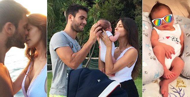 Ariadna Romero e Pierpaolo Pretelli, passeggiata in famiglia: eccoli col figlio Leonardo