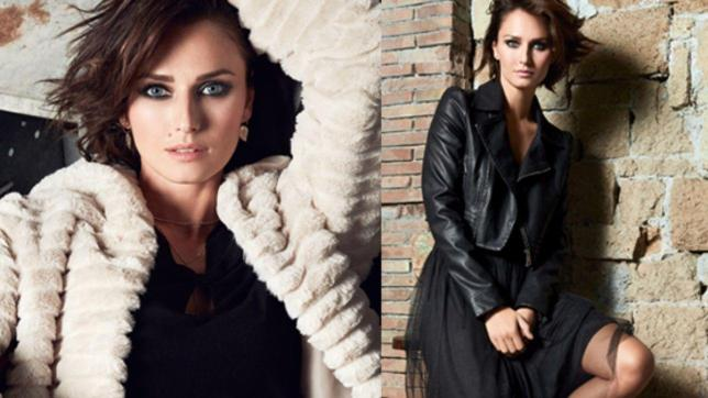 Anna Safroncik: occhi magnetici, look casual