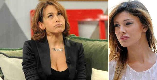 """Barbara D'Urso punge Belen a Domenica Live: """"Non so di chi state parlando"""""""