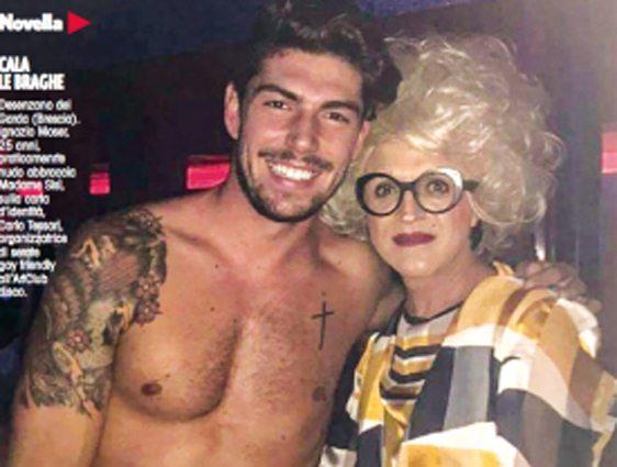 """Ignazio Moser e il passato """"movimentato"""": con la drag queen nella discoteca trasgressiva"""