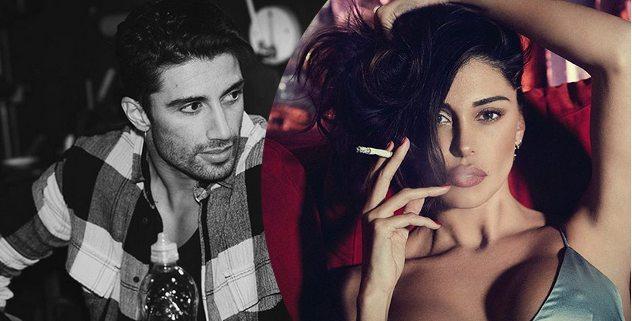 Insulti per Andrea Iannone su Instagram, interviene Belen Rodriguez spiazzando tutti.